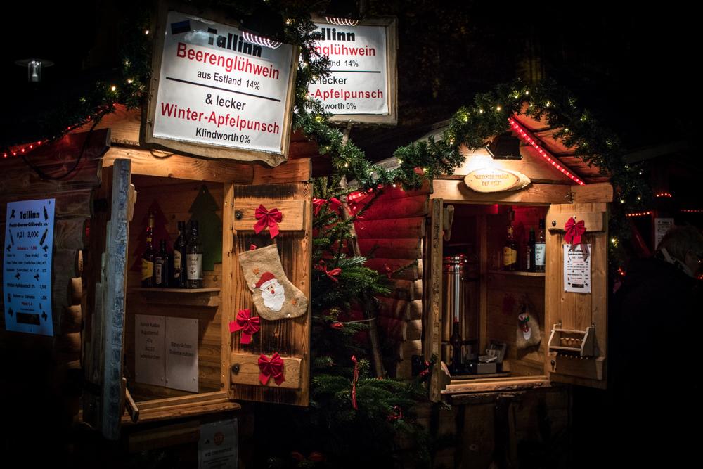 Flensburg Weihnachtsmarkt Südermarkt