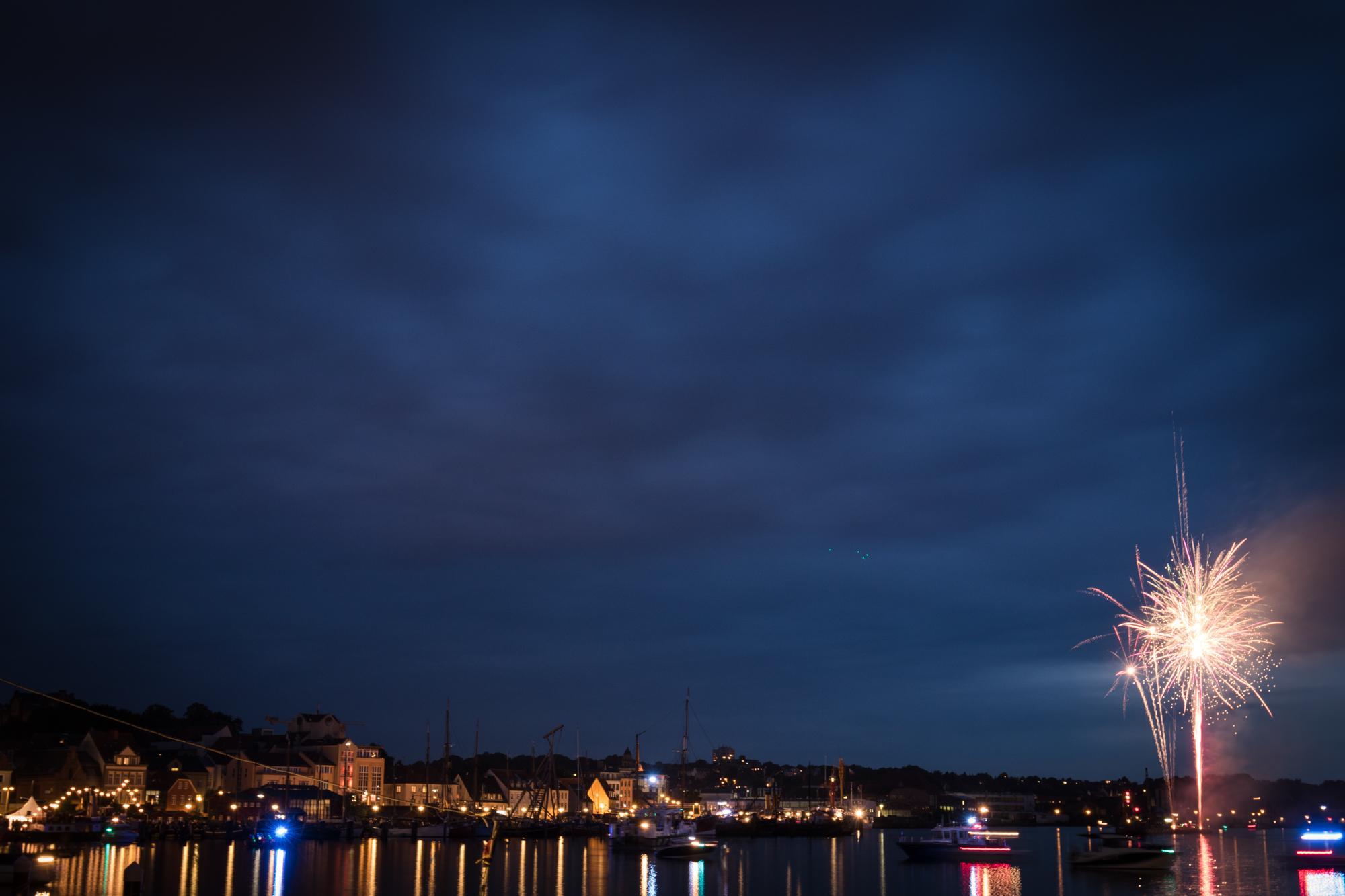 Flensburger Dampf Rundum Feuerwerk
