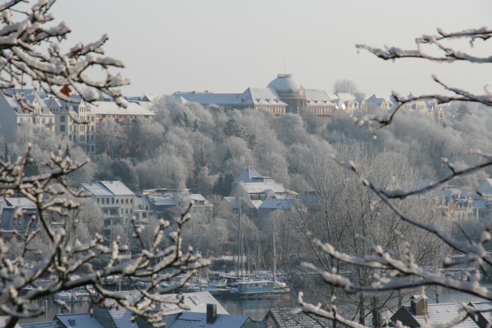 Flensburg Winter Fördezeit